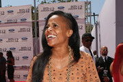 Choreographer Laurieann Gibson arrives at the 2012 BET Awards at The Shrine Auditorium on July 1, 2012 in Los Angeles, California.