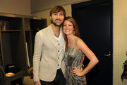 Dave Haywood and Kelli Cashiola attend the 2012 CMT Music awards at the Bridgestone Arena on June 6, 2012 in Nashville, Tennessee.