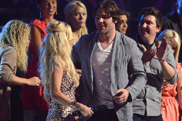 Mike Fisher Carrie Underwood 2012 CMT Music Awards - Show