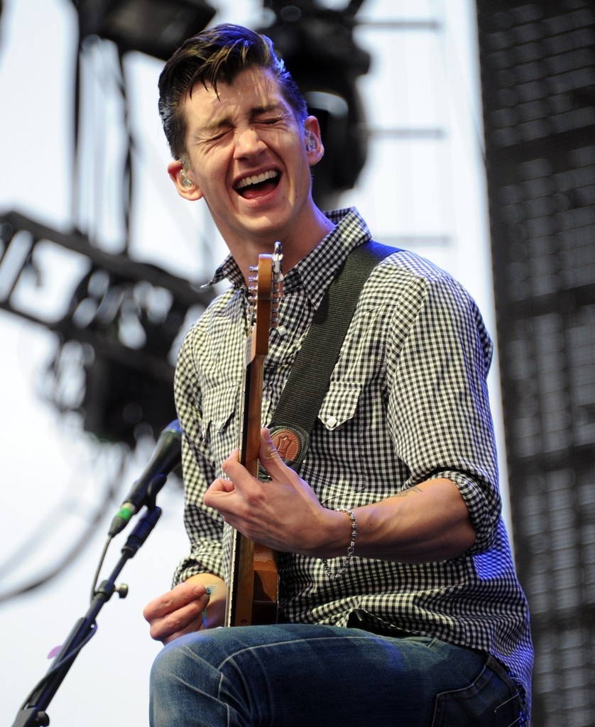 Alex Turner in 2012 Coachella Valley Music & Arts Festival ...