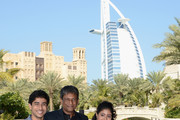 """Actors Suraj Sharma, Adil Hussain and Shravanthi Sainath attend the """"Life of PI"""" photocall during day one of the 9th Annual Dubai International Film Festival held at the Madinat Jumeriah Complex on December 9, 2012 in Dubai, United Arab Emirates."""
