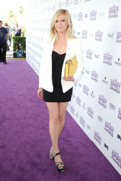 Kirsten+Dunst in 2012 Film Independent Spirit Awards - Red Carpet