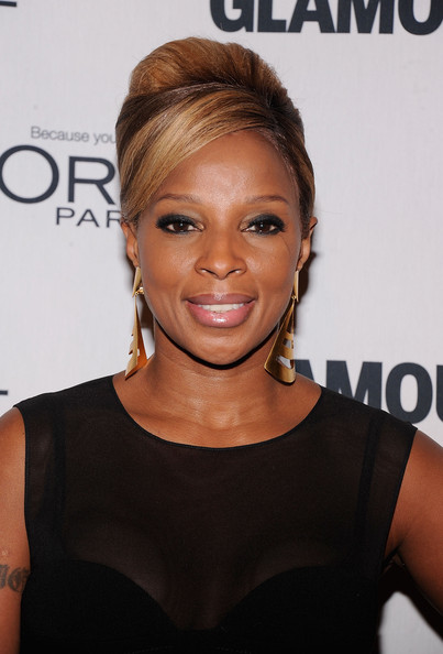 Mary J. Blige attends the 22nd annual Glamour Women of the Year Awards at Carnegie Hall on November 12, 2012 in New York City.