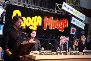 Marty Markowitz Adrian Benepe 2012 Great Googa Mooga Festival Press Conference