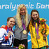 Heather Frederiksen Maddison Elliott Photos - (L-R) Silver medallist Heather Frederiksen of Great Britain, gold medallist Jessica Long of the United States and bronze medallist Maddison Elliott of Australia pose on the podium during the medal ceremony for the Women's 400m Freestyle - S8 Final on day 2 of the London 2012 Paralympic Games at Aquatics Centre on August 31, 2012 in London, England. - 2012 London Paralympics - Day 2 - Swimming