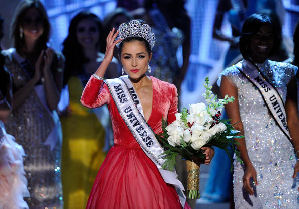 Olivia+Culpo in 2012 Miss Universe Pageant