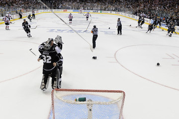 Drew Doughty Colin Fraser 2012 NHL Stanley Cup Final - Game Six