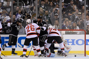 Mike Richards Dustin Penner 2012 NHL Stanley Cup Final - Game Three