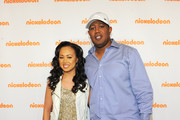 Actress Cymphonique Miller and rapper Master P attend the 2012 Nickelodeon Upfront presentation at Rose Theater, Jazz at Lincoln Center on March 14, 2012 in New York City.