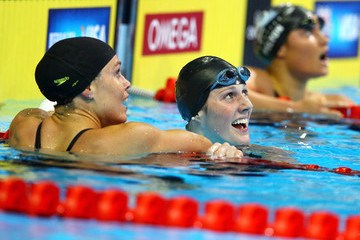 Natalie Coughlin Missy Franklin 2012 U.S. Olympic Swimming Team Trials - Day 2