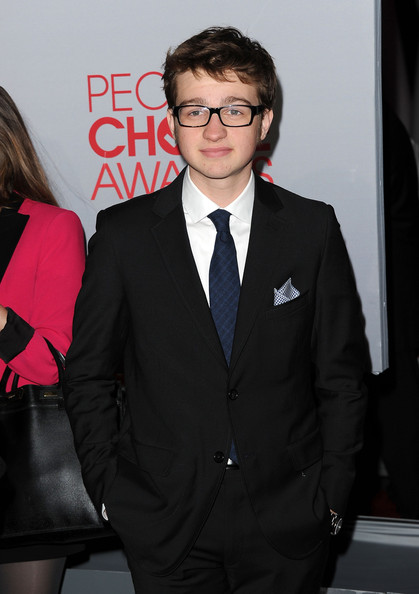 Actor Angus T. Jones arrives at the 2012 People's Choice Awards held at Nokia Theatre L.A. Live on January 11, 2012 in Los Angeles, California.