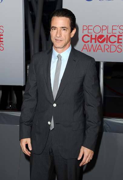 Actor Dermot Mulroney arrives at the 2012 People's Choice Awards held at Nokia Theatre L.A. Live on January 11, 2012 in Los Angeles, California.