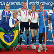 Josiane Lima 2012 Samsung World Rowing Cup I - Day Two
