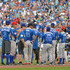 Rick Sutcliffe Photos - A general view of atmosphere at the 2012 Taco Bell All-Star Legends & Celebrity Softball Game at Kauffman Stadium on July 8, 2012 in Kansas City, Missouri. - 2012 Taco Bell All-Star Legends & Celebrity Softball Game