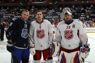 Marian Gaborik Dan Girardi 2012 Tim Hortons NHL All-Star Game