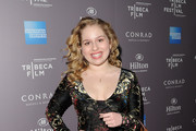 Actress Allie Grant  attends the 2012 Tribeca Film Festival and American Express LA reception held at The Beverly Hilton Hotel on March 19, 2012 in Beverly Hills, California.