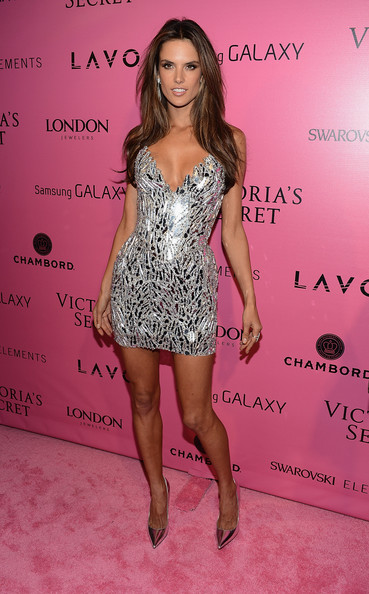Alessandra Ambrosio attends the after party for the 2012 Victoria's Secret Fashion Show at Lavo NYC on November 7, 2012 in New York City.