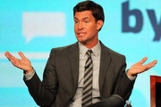 Designer Jeff Lewis speaks onstage during the 'Interior Therapy With Jeff Lewis' panel during the Bravo NBCUniversal portion of the 2012 Winter TCA Tour at The Langham Huntington Hotel and Spa on January 7, 2012 in Pasadena, California.