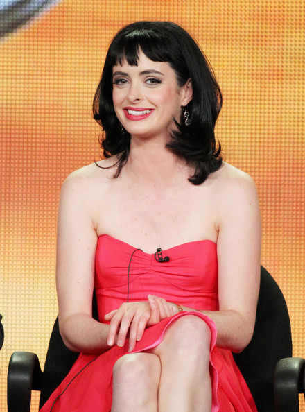 Krysten Ritter Promotes 'Don't Trust the B---- in ...