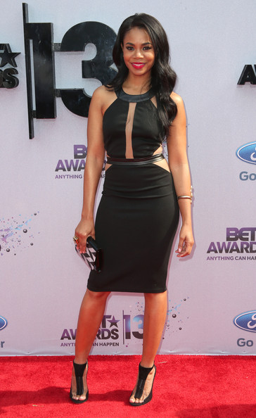 Actress Regina Hall attends the 2013 BET Awards at Nokia Theatre L.A. Live on June 30, 2013 in Los Angeles, California.