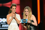 Alyssa Milano and Avril Lavigne Photos Photo