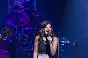 Canadian singer Nikki Yanofsky performs on day nine during the 2013 Festival International de Jazz de Montreal on July 6, 2013 in Montreal, Canada.