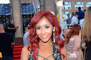 Television personality Nicole 'Snooki' Polizzi attends the 2013 MTV Video Music Awards at the Barclays Center on August 25, 2013 in the Brooklyn borough of New York City.