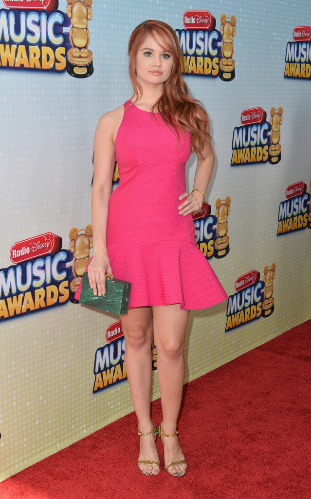 debby ryan in 2013 radio disney music awards arrivals