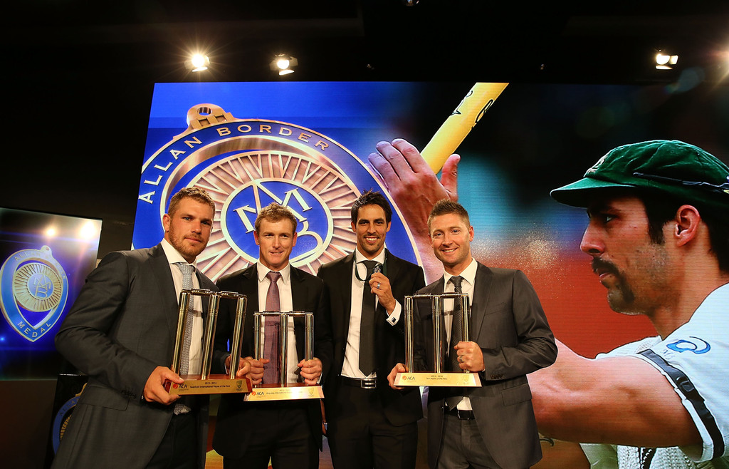 allan border medal - photo #20