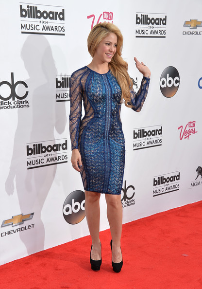 Singer Shakira attends the 2014 Billboard Music Awards at the MGM Grand Garden Arena on May 18, 2014 in Las Vegas, Nevada.