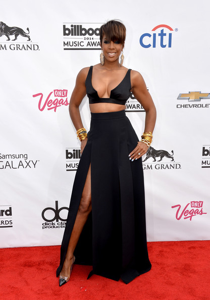 Singer Kelly Rowland attends the 2014 Billboard Music Awards at the MGM Grand Garden Arena on May 18, 2014 in Las Vegas, Nevada.