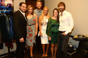 Chris Tyrrell; Hillary Scott, Kelli Cashiola, Charles Kelley, Cassie McConnell, and Dave Haywood attend the 2014 CMT Music Awards at Bridgestone Arena on June 4, 2014 in Nashville, Tennessee.