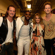 She hangs out backstage with Jason DeRulo and Florida Georgia Line at the CMT Music Awards.