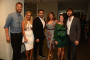 Charles Kelley, Cassie McConnell, Chris Tyrrell, Hillary Scott, Kelli Cashiola, and Dave Haywood attend the 2014 CMT Music Awards at Bridgestone Arena on June 4, 2014 in Nashville, Tennessee.