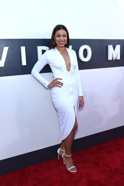 Singer Jordin Sparks attends the 2014 MTV Video Music Awards at The Forum on August 24, 2014 in Inglewood, California.