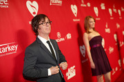 Singer/songwriter Ben Folds (L) and actress Alicia Witt attend 2014 MusiCares Person Of The Year Honoring Carole King at Los Angeles Convention Center on January 24, 2014 in Los Angeles, California.