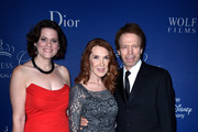 (L-R) Executive Director Princess Grace Foundation Toby Boshak and  Gala Host Committee members Linda Bruckheimer and Jerry Bruckheimer attend the 2014 Princess Grace Awards Gala with presenting sponsor Christian Dior Couture at the Beverly Wilshire Four Seasons Hotel on October 8, 2014 in Beverly Hills, California.