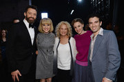 (L-R) Hugh Jackman, Anika Larsen, Carole King, Jessie Mueller and Jarrod Spector pose backstage at the 68th Annual Tony Awards at Radio City Music Hall on June 8, 2014 in New York City.