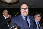 Actors Emjay Anthony (L) and Jon Favreau attend the 'Chef' Premiere after party during the 2014 Tribeca Film Festival at American Cut on April 22, 2014 in New York City.