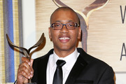 Writer Vincent Brown is honored during the 2014 Writers Guild Awards L.A. Ceremony at the JW Marriott Los Angeles at L.A. LIVE on February 1, 2014 in Los Angeles, California.