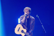 Singer Ed Sheeran performs onstage during the 2014 iHeartRadio Music Festival at the MGM Grand Garden Arena on September 20, 2014 in Las Vegas, Nevada.