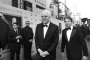 Image has been shot in black and white.) Honoree Steve Martin (L) and actor Martin Short attend the 2015 AFI Life Achievement Award Gala Tribute Honoring Steve Martin at the Dolby Theatre on June 4, 2015 in Hollywood, California. 25292_006