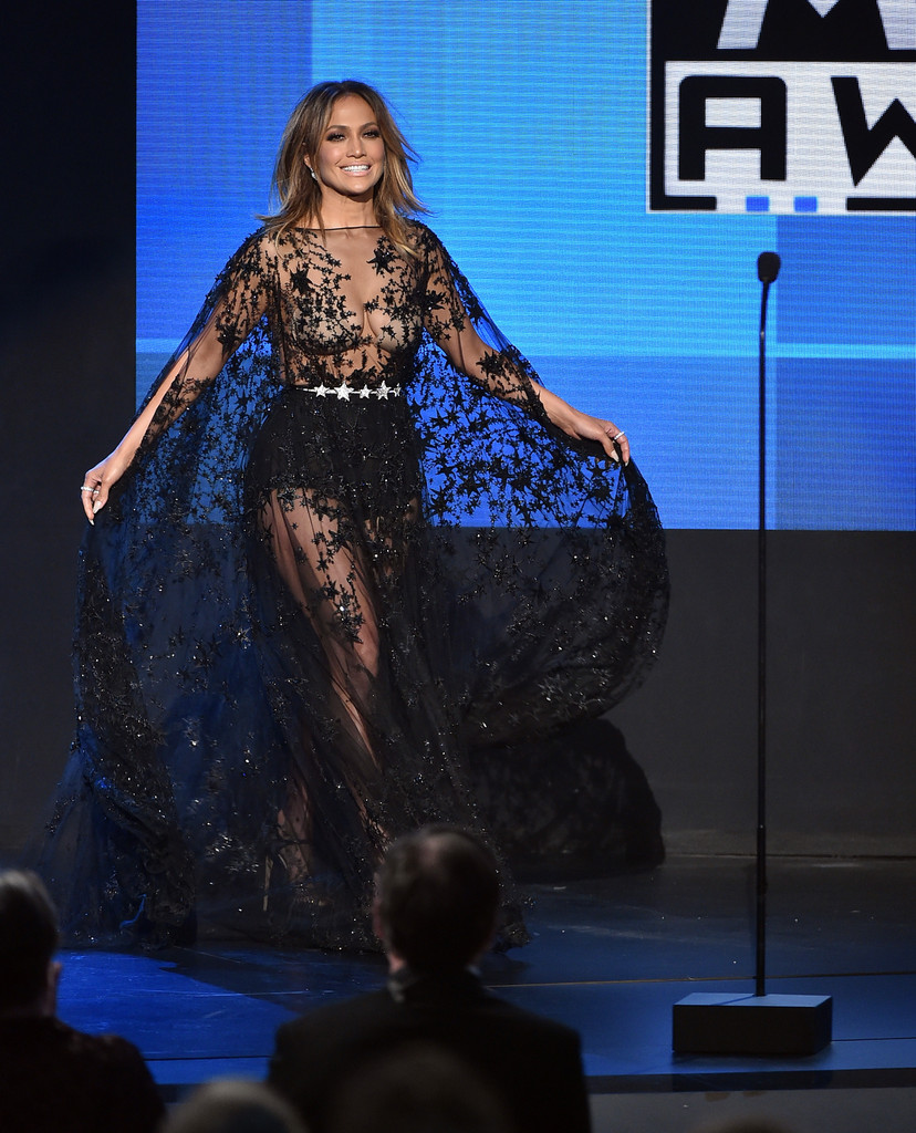 J Lo Sits Atop Nameless Men Has 9 Outfit Changes During