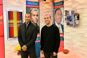 """Actor/recording artist Ludacris (L) and musician Peter Wentz at the """"2015 Billboard Music Awards"""" Finalists Live Announcement on """"Good Morning America"""" at ABC News' Good Morning America Times Square Studio on April 7, 2015 in New York City."""
