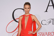 Natasha Poly in Michael Kors - Best and Worst Dressed at the 2015 CFDA Fashion Awards