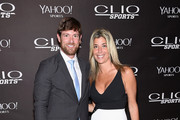 Noah Galloway and Nicole Purcell, CLIO Awards president attend the 2015 CLIO Sports Awards at Cipriani 42nd Street on July 8, 2015 in New York City.