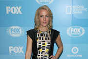 Gillian Anderson - Best Dressed at the 2015 TV Upfronts