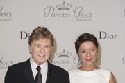 2015 Princess Grace Awards Gala Honorees Robert Redford and Sibylle Szaggars Redford attend the 2015 Princess Grace Awards Gala With Presenting Sponsor Christian Dior Couture at Monaco Palace on September 5, 2015 in Monte-Carlo, Monaco.