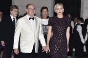 His Serene Highness Prince Albert II of Monaco, Her Serene Highness Princess Charlene of Monaco, 2015 Princess Grace Awards Gala Honorees Robert Redford and Sibylle Szaggars Redford attend the 2015 Princess Grace Awards Gala With Presenting Sponsor Christian Dior Couture at Monaco Palace on September 5, 2015 in Monte-Carlo, Monaco.