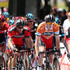 Rohan Dennis Photos - Australian cyclist and race winner, Rohan Dennis of the BMC Racing team competes in the Ochre Jersey after Stage 6 of the 2015 Santos Tour Down Under on January 25, 2015 in Adelaide, Australia. - 2015 Santos Tour Down Under
